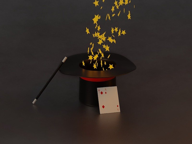 Theatre of financial advice - Magician's hat